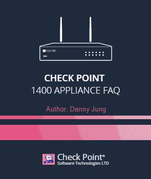 Check Point 1400 Appliance - FAQ