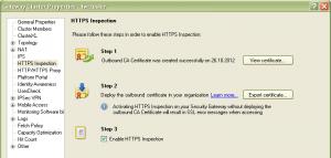 HTTPS Inspection