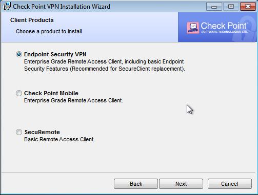 Check Point VPN-Login-Übersicht | ESC – TechBlog