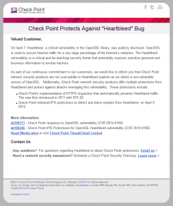 Heartbleed Bug - E-Mail