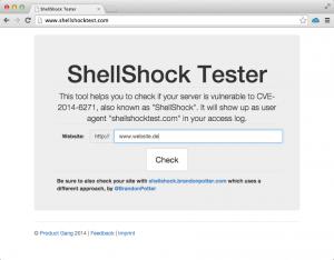 ShellShock Tester . com