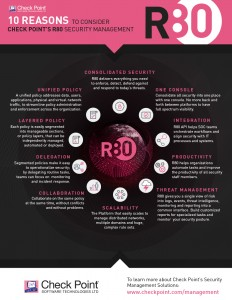 Check Point  R80 Infografik
